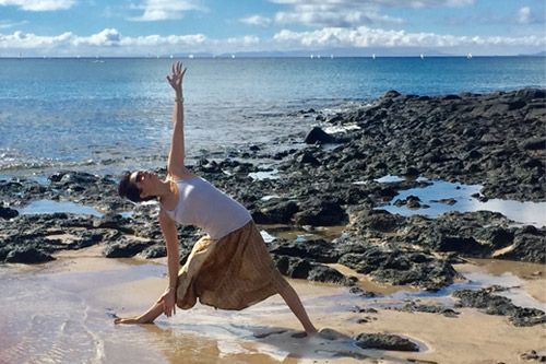 Lanzarote yoga retreat with Ladan Soltani